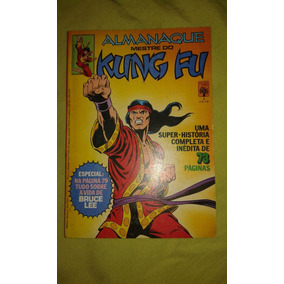 Hq. Almanaque Mestre Do Kung Fu. 1. Ed.abril. 1982.impecável