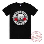 Camiseta Guns N Roses Rock Camisa Banda Original Qualidade