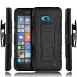 Forro Robot Con Clip Mircrosoft Nokia Lumia 640 640 Xl