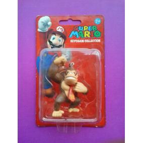 Llavero Figura Muñeco Donkey Kong De Mario Bros Nintendo