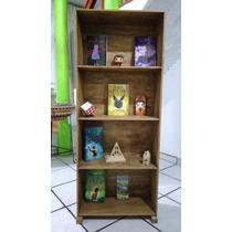 Librero Nuevo Rustico