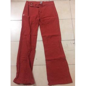Pantalón De Vestir Any Time, Color Ladrillo Talla S