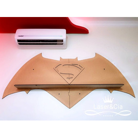 Prateleira Batman Vs Superman. Sem Pintura Série Heróis