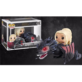 Funko Pop Rides: Daenerys Y Drogon Got