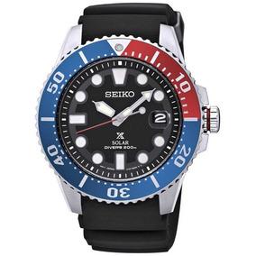 Seiko Prospex Solar Diver Sne439p1 Sne439 200m Pepsi