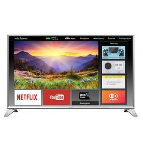 Smart Tv Led 43 Panasonic Tc-43es630b Full Hd Com Wi-fi