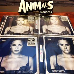 Cd Demi Lovato Tell Me You Love Me Cd Deluxe Nuevo En Stock
