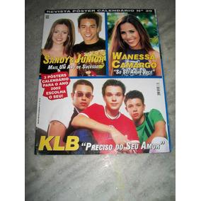 Sandy E Junior - Poster Calendario 2002 -