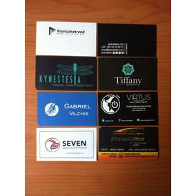 100 Tarjetas De Presentación En Offset Digital.