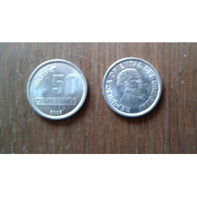 !! Vendo Monedas De Uruguay De 50 Centésimos Del Año 2008 !!