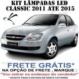 Kit Lâmpadas Led Corsa Classic 2011 Em Diante - Frete Grátis