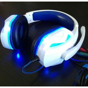 Auricular Gamer Knup Con Luz Micrófono Y Sonido Hd