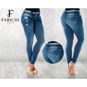 Jeans Farichi Studio Levanta Cola 56515
