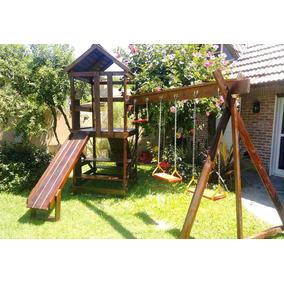 Juegos Infantiles De Madera Para Jardin - Juegos de Aire Libre y ...