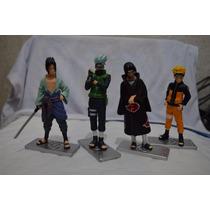 Kit Naruto (kakashi Naruto Itachi Sasuke) Pronta Entrega