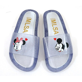 Chinelo Feminino Melissa Beach Slide Mickey