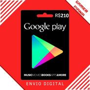 Google Play R$ 210 Reais Br- Free Fire 5600 Diamantes