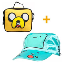 Kit Hora Aventura Gorra + Lonchera Jake Cartoon Cn Atm