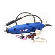 Minitorno Electrico Kld 180w Eje Flexible 16 Acc. + Maleta