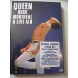 Dvd Queen Live Montreal & Live Aid 2 Dvd Dvd Nuevo Original