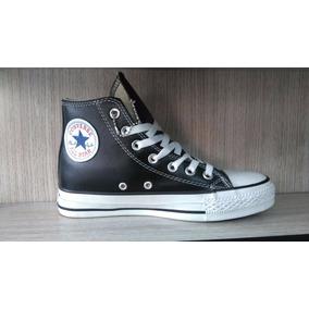 zapatillas converse cuero niños