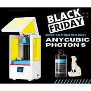 Impressora 3d Anycubic Photon S + 1l De Resina Frete Gratis