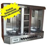 Máquina Churrasco Grego Shawarma Kebab Capacidade De 150 Kg