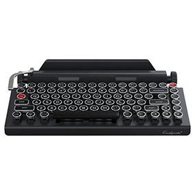 Qwerkywriter Máquina De Escribir Teclado Inalámbrico Mecáni