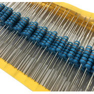 Resistor Metal Film 47r 3w 5% - 100 Peças