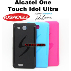 Alcatel One Touch Idol Ultra 6033 Funda Silicon S