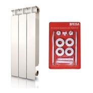 Radiador Peisa Tropical 500 X 8 Elementos + Kit