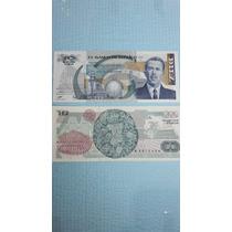 Billete Antiguo 10 Pesos Lazaro Cardenas