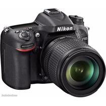 Nikon D7100 Kit 18-140mmvr 24.1mp Vr +16gb C10+local+gtia