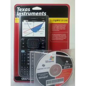 Calculadora Texas Ti - Nspire Cx Cas - 1 Ano De Garantia!