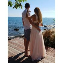 Vestidos Formatura Festa Casamento Tule ] Brilho E Pedras