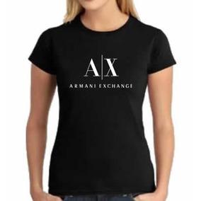 2393fdb8f7cd6 Camiseta Feminina Baby Look Emporio Armani Vermelho Tam P Calcados ...