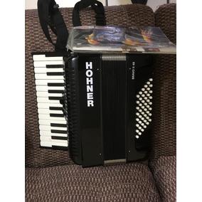 Acordeon D Piano Hohner Bravo - 48 Igual A Nuevo Certificado