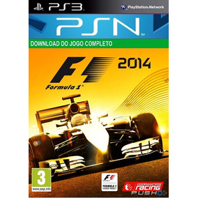 Formula 1 2014 Ps3 Midia Digital Psn Original