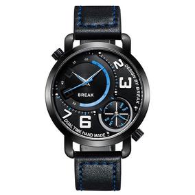 Reloj Dual Time Series Break Original Exlcusivo