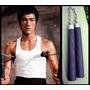 Nunchakus Negros De Goma Reforzada, Estilo Bruce Lee, Jet Li