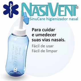 Lavador E Higienizador Nasal - Sinucare - Fácil Uso Diário