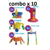 Gorros Carnaval Carioca X 10un Cumpleaños Fiestas Goma Ideal