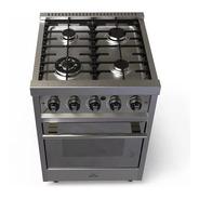 Cocina Morelli Zafira 550  55 Cm Reja Vitrificada