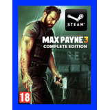 Max Payne 3 Complete Edition - Steam Gift Juego Pc 100% Orig