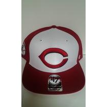 Gorra ´47 Mlb Cincinnati Reds Snapback $435 Pesos - Original