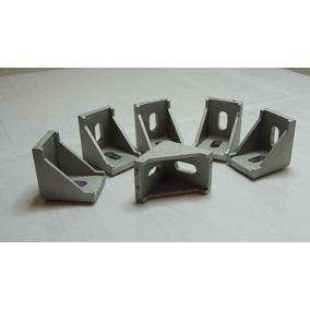 Esquina Para Perfil De Aluminio 2020, Angulo Union 20x20