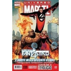 Livro Universo Marvel - Quarteto Fantástico Nº 20 Marvel