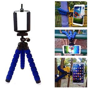 Mini Tripé Flexível Para Câmera, Celular, Filmadora