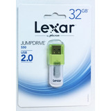 Pen Drive Lexar 32 Gb 2.0 Usb Pendrive Original C/garantia