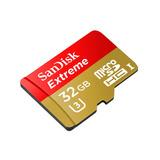 Tarjeta De Memoria Sandisk Extreme 32gb C10